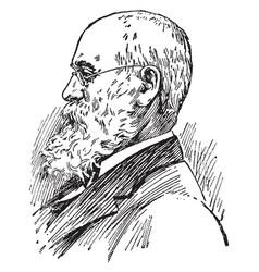 Charles anderson dana vintage vector