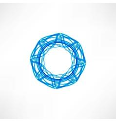 Circle icon vector