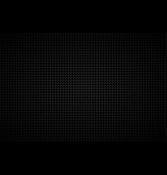 dark abstract background with grey corners carbon vector image