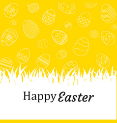 Happy easter egg background and wallpapers vector