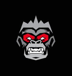 Monkey logo vector