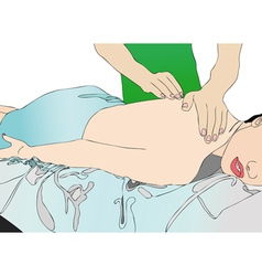 Physiotherapy vector