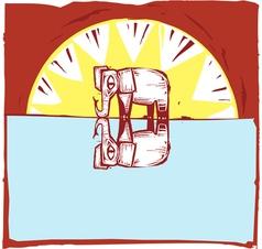 Safari Scene 5 vector image vector image