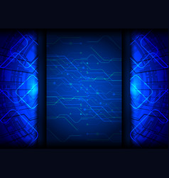 Tech abstract background vector