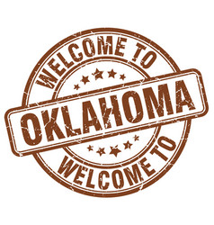 Welcome to oklahoma vector