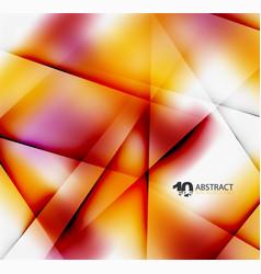 Hi-tech or business futuristic blurred template vector