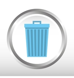 Waste icon design vector