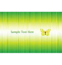 Bright Background With Butterfly vector image vector image