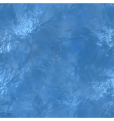 clear blue water sea floor vector image vector image