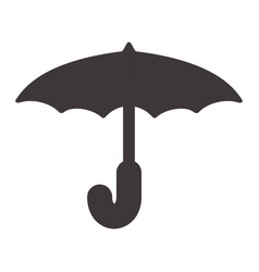 Cute umbrella to protection of weather vector
