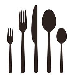 Cutlery vector image vector image