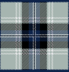 Grey tartan plaid seamless pattern vector