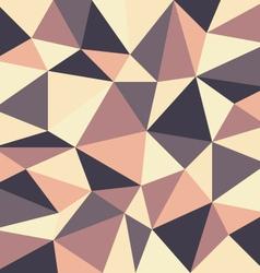 Triangular retro background vector