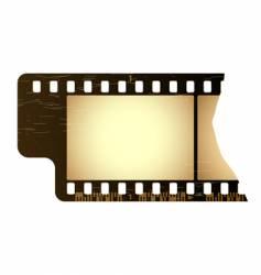 grunge film frame vector image