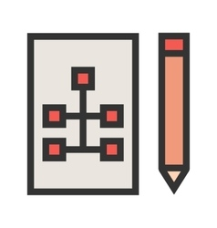 Draw hierarchy vector