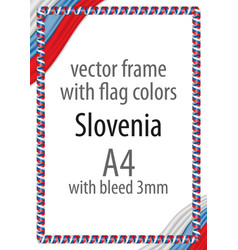 flag v12 slovenia vector image