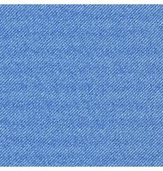 Seamless texture of blue denim diagonal hem vector image vector image