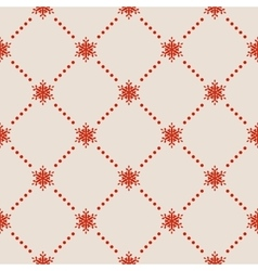 Seamless snowflakes pattern eps 10 vector
