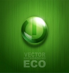 Element for environmental design in the form of a vector