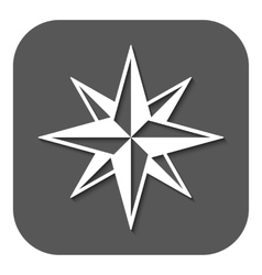 The star icon star symbol flat vector