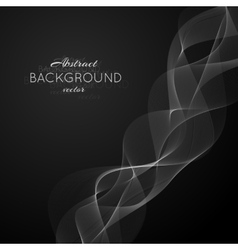 Abstract light white wave vector