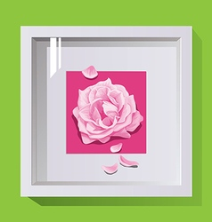 Decorative frame for design on the wall paintings vector