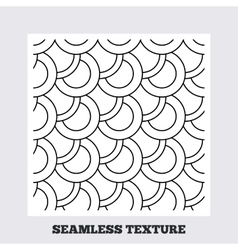 Circles stripped geometric seamless pattern vector