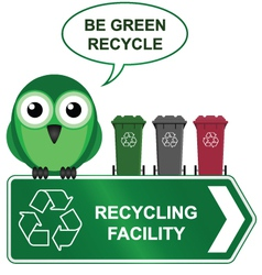 Recycling sign vector