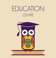 Education owl vector