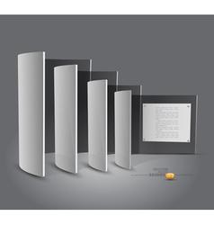 Presentation Panels vector image