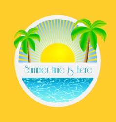 Summer time is here - vector