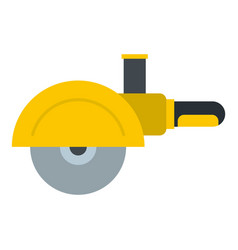 high speed cut off machine icon isolated vector image
