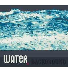 abstract water background vector image
