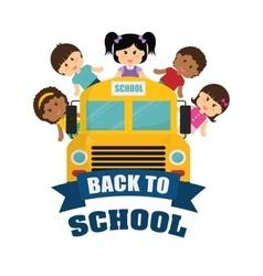 Back to school icon set design vector