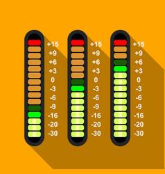 studio mixer icon flat style vector image