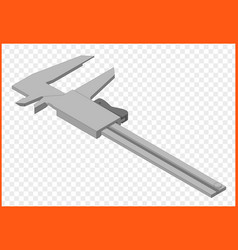 calipers eps vector image