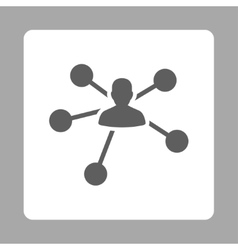 Relations icon vector