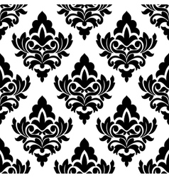 Bold damask style seamless pattern vector image vector image