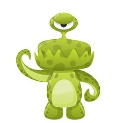 Green Slime Monster vector image vector image