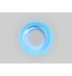 Neon light soft blue vector