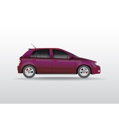 Car side view vector