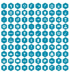 100 south america icons sapphirine violet vector