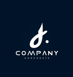 Alphabet small letter d logo icon design vector image