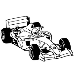 Formula One vector image