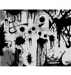 splatters vector image vector image