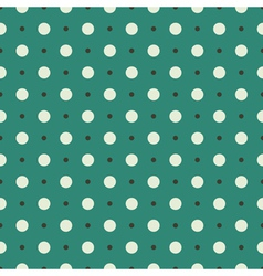 Seamless turquoise vintage pattern vector