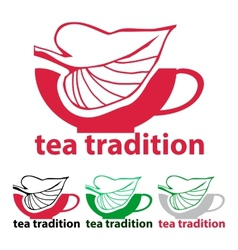 Tea tradition vector