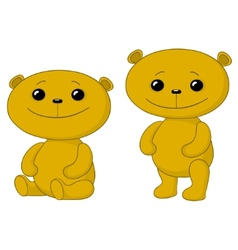 teddy bears friends vector image
