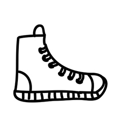 young shoes isolated icon design vector image