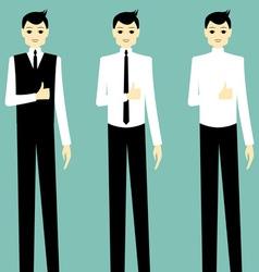 Businessman success vector